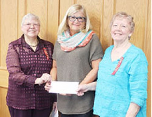 Auxiliary Presents $15,000 Donation to Hospital Foundation