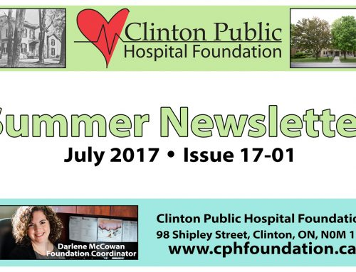 CPHF Summer Newsletter (Issue 17-01)