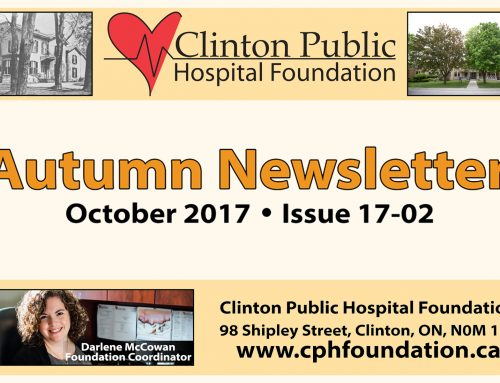 CPHF Autumn Newsletter (Issue 17-02)