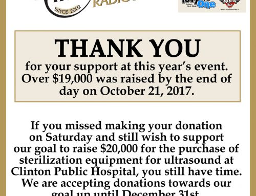 2017 CKNX Radiothon – Thank You