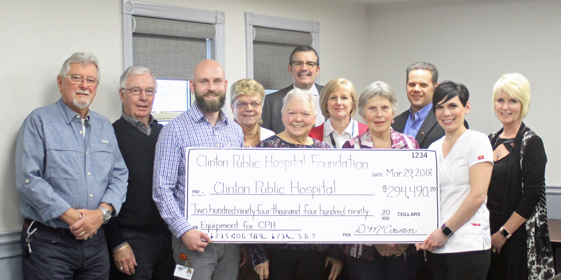 CPH Receives Nearly $300,000