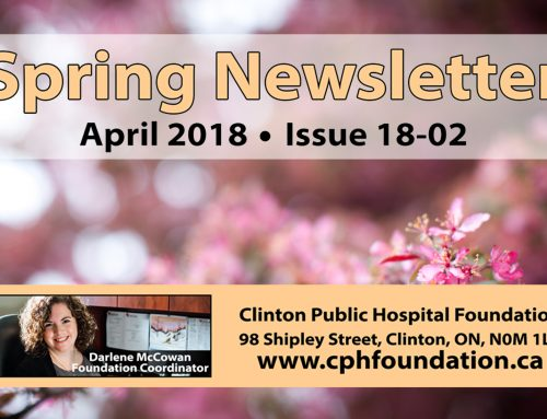CPHF Spring Newsletter (Issue 18-02)