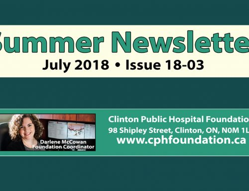 CPHF Summer Newsletter (Issue 18-03)