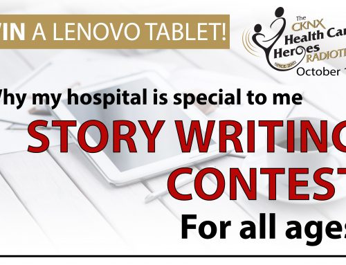 CKNX Healthcare Heroes 2019 Story Writing Contest
