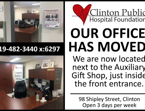 Foundation Office Has Moved