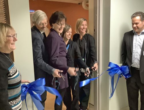 Ribbon Cutting Ceremony for New X-Ray Suite at CPH