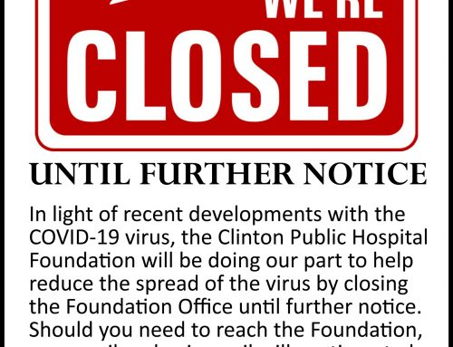 Foundation Office Temporarily Closed