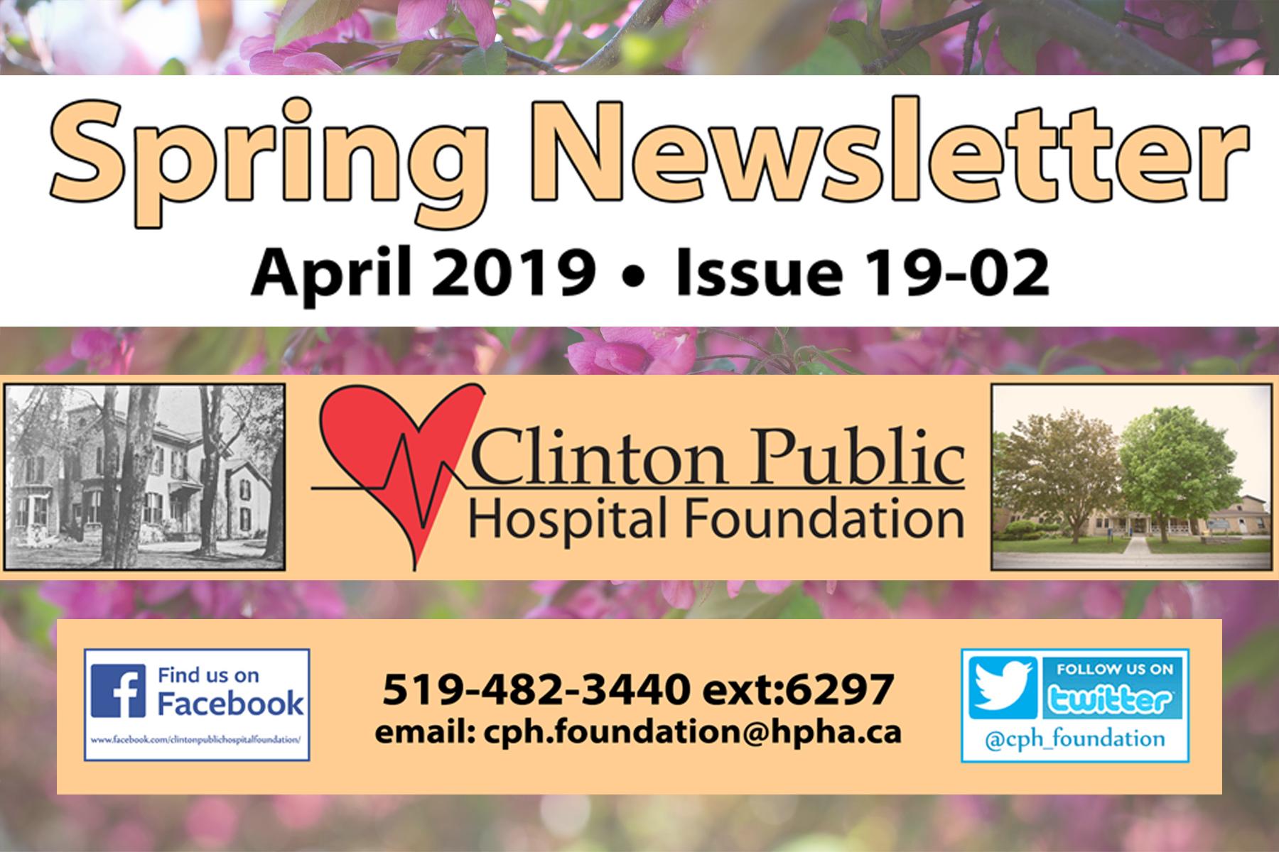 CPHF Spring Newsletter (19-02)