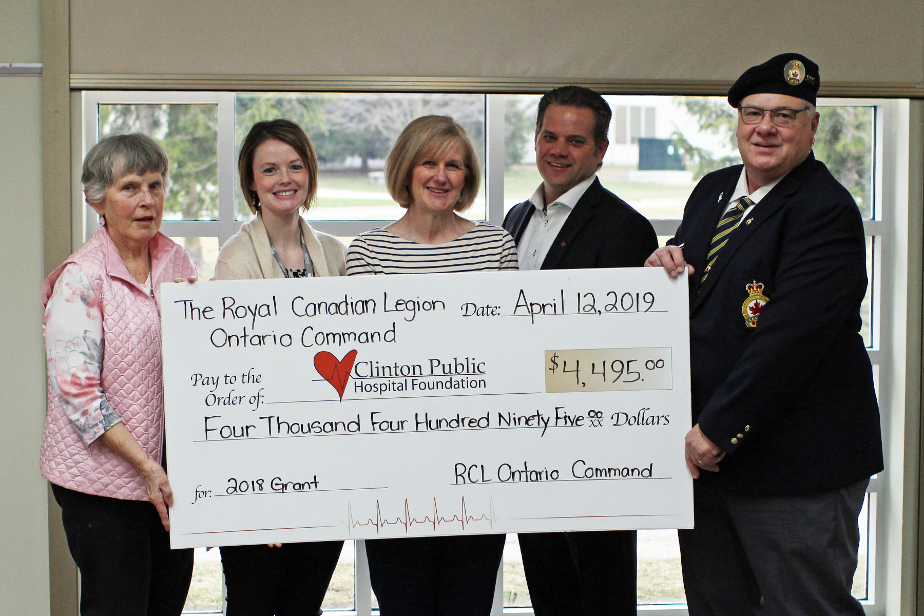 Foundation Received Legion Grant For New Equipment