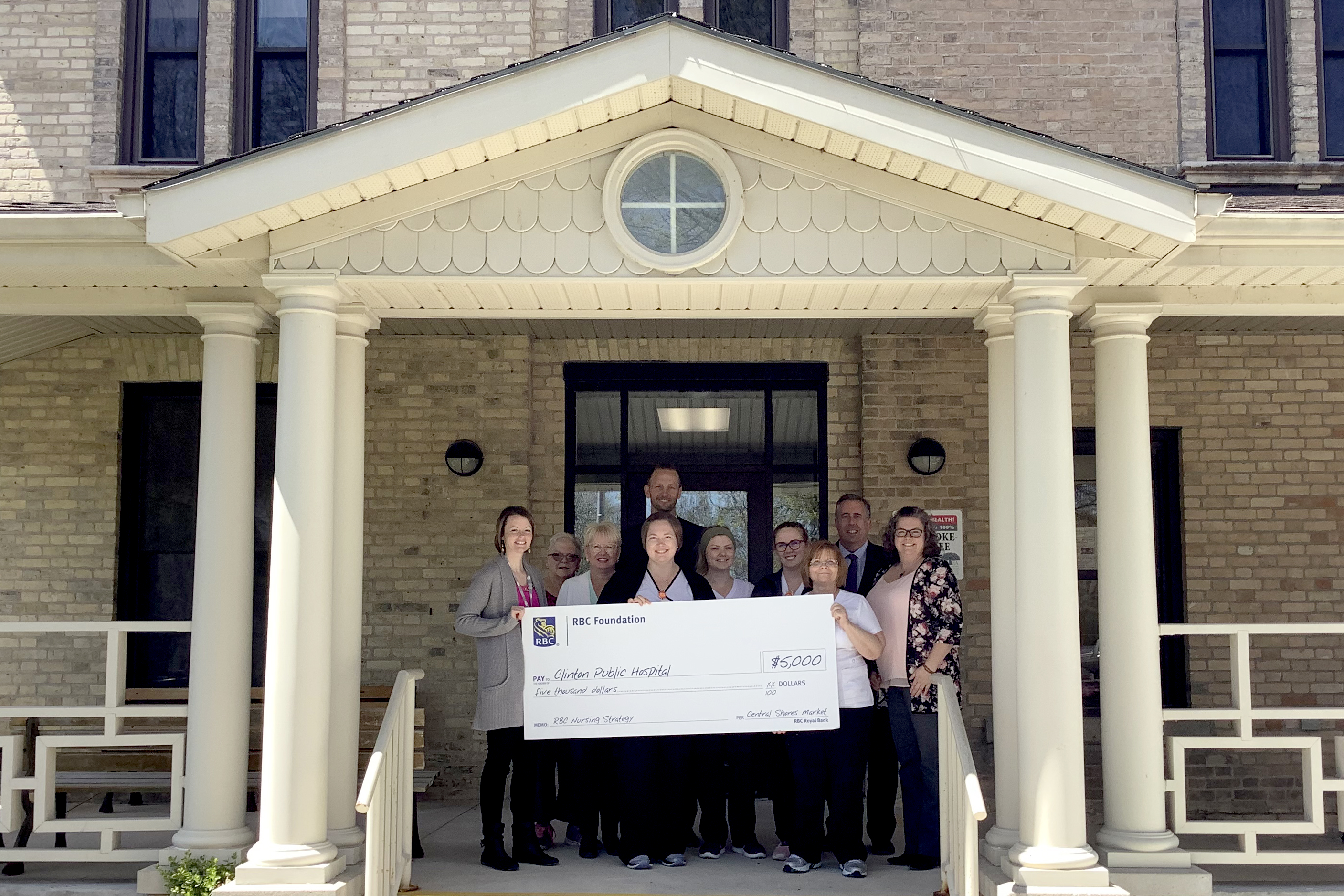 RBC Presents Nursing Strategy Grant to CPH in Celebration of National Nursing Week