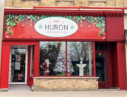 Huron Christmas Store Fundraises for Lift-Recline Chair