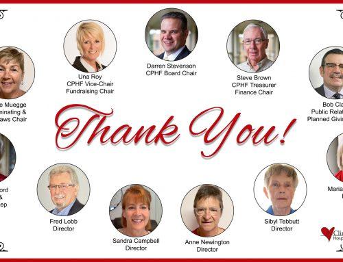 Thank You to our Volunteer Directors on National Volunteer Week