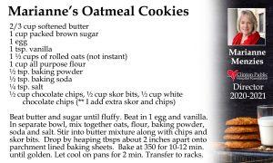 Marianne's Oatmeal Cookies