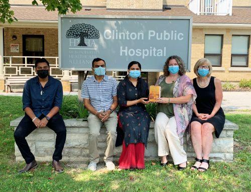Patel Family Donates to CPH
